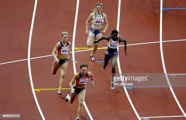 World Championships 2003 Paristeam Equipe Netherlands Poelman Jacqueline Van Assendelft Pascal Team Equipe Belgium Rochtus Audry Ouedraogo Elodie...