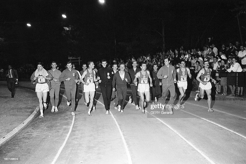 Athletics: World Record 4 X 1500 Metres In Saint-Maur-Des-Fosses : News Photo