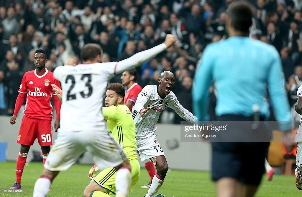 Besiktas vs Benfica - UEFA Champions League : News Photo