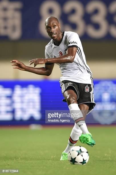 Atiba Hutchinson of Besiktas in action during the International Champions Cup match between Schalke 04 and Besiktas at Zhuhai Sports Centre Stadium...
