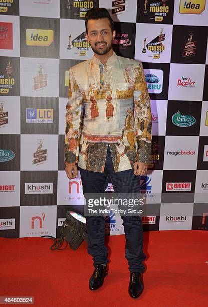 Atif Aslam at Mirchi music awards in Mumbai