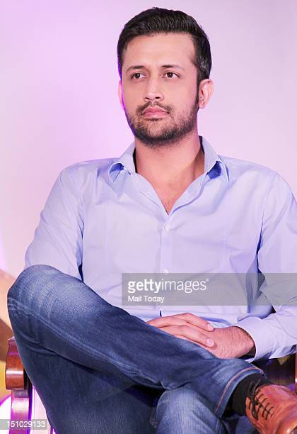 Atif Aslam during the launch of TV show 'Sur Kshetra' at Taj Lands End in Mumbai on August 30 2012