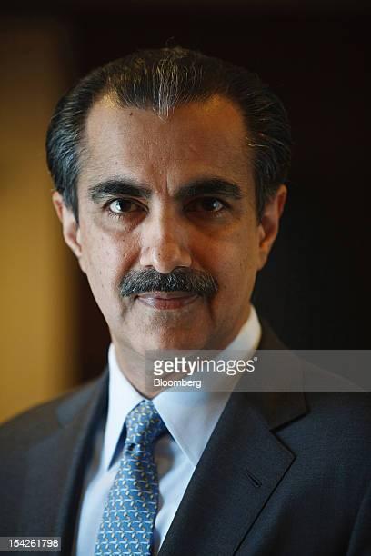 Atif Bajwa chief executive officer of Bank Alfalah Ltd poses for a photograph in Karachi Pakistan on Wednesday Oct 17 2012 Bank Alfalah Pakistan's...