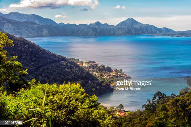 atitlan lake - guatemala stock pictures, royalty-free photos & images