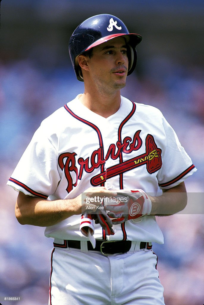 Atlanta Braves Greg Maddux in action during the 1995 Major