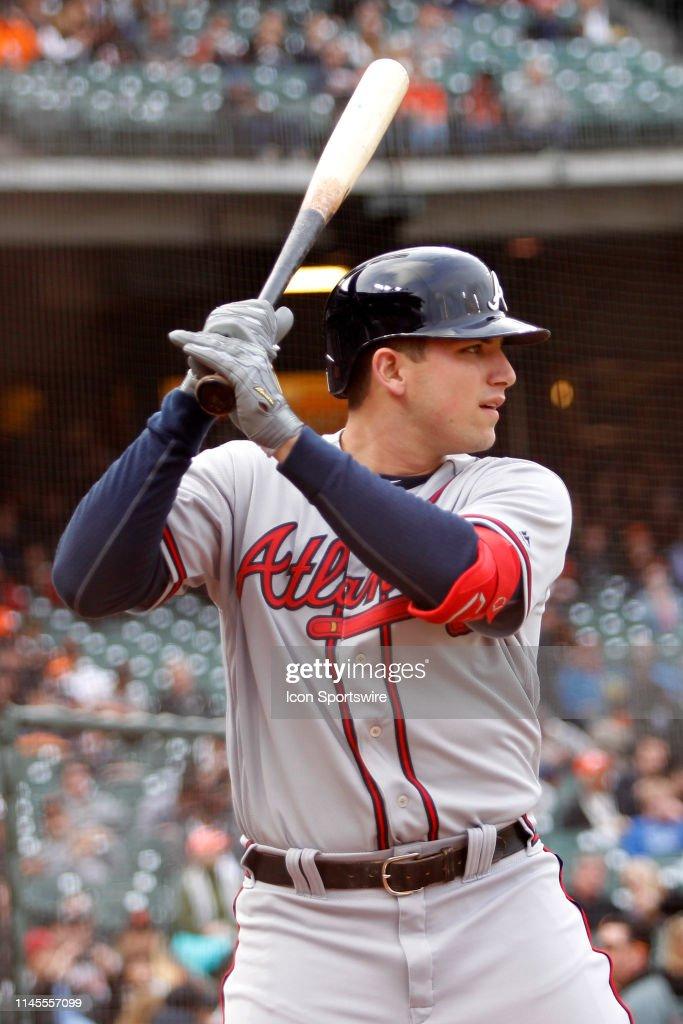 MLB: MAY 20 Braves at Giants : News Photo