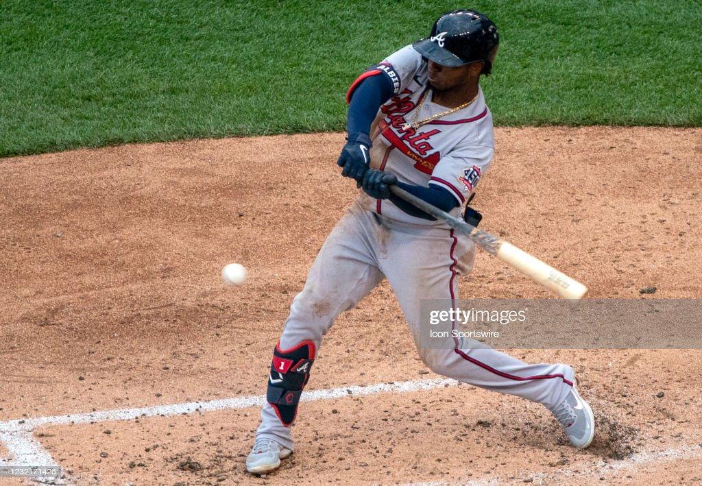 MLB: APR 07 Braves at Nationals : News Photo