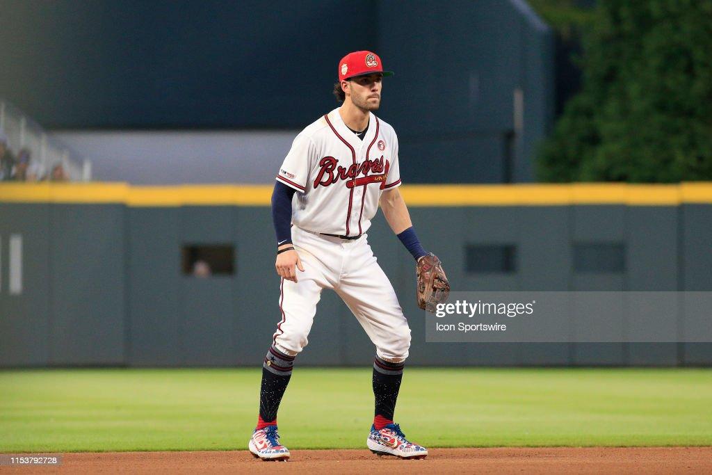 MLB: JUL 04 Phillies at Braves : News Photo