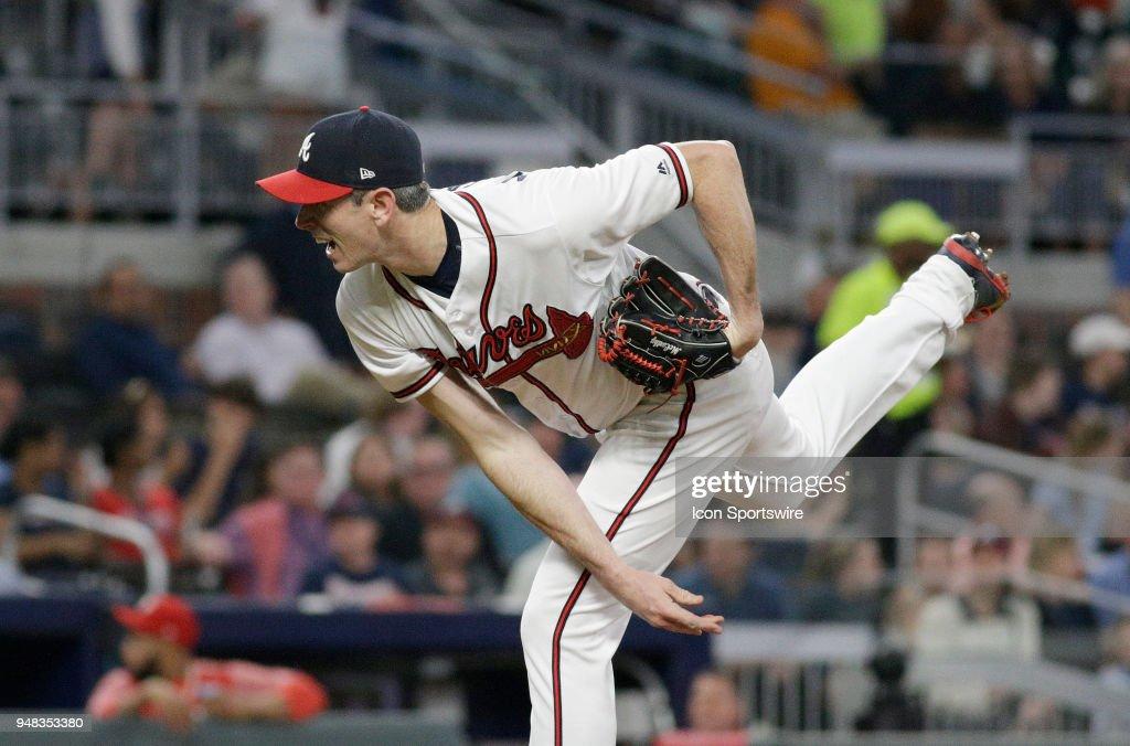 MLB: APR 18 Phillies at Braves : News Photo