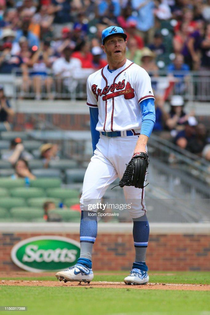 MLB: JUN 16 Phillies at Braves : News Photo