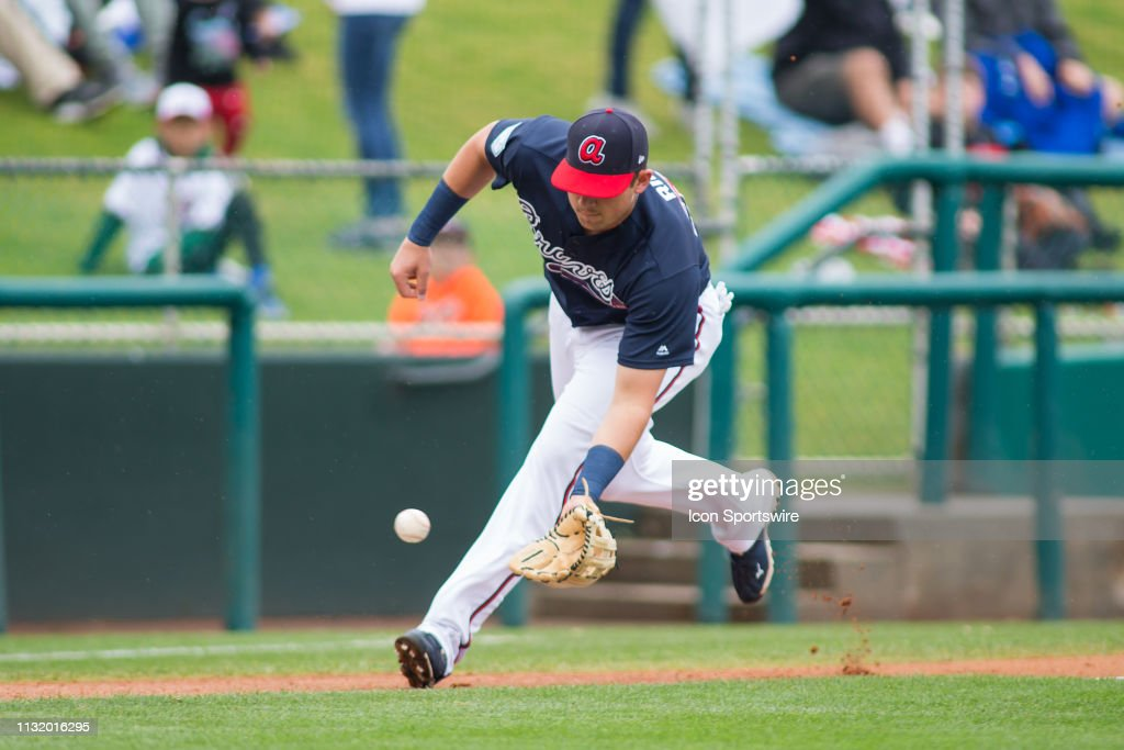MLB: MAR 19 Spring Training - Nationals at Braves : News Photo