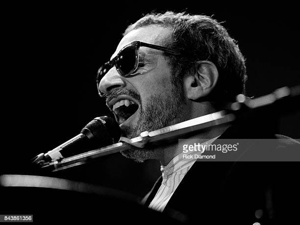 Donald Fagen of Steely Dan performs at Chastain Park Amphitheater in Atlanta Georgia 2006