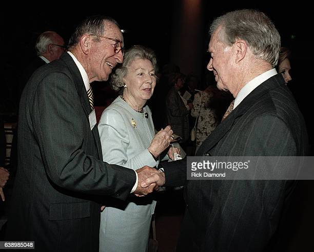 Robert Lipshutz White House Counsel under Carter Betty Beck Lipshutz and Former President Jimmy Carter attend Former President Jimmy Carter surprise...