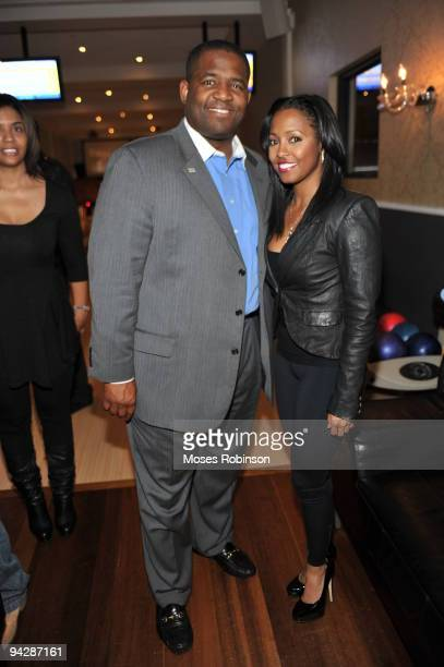 COVERAGE* Atlanta City council president Ceasar Mitchell and Keshia Knight Pulliam attend the Meet The Browns and House Of Payne wrap party at Ten...