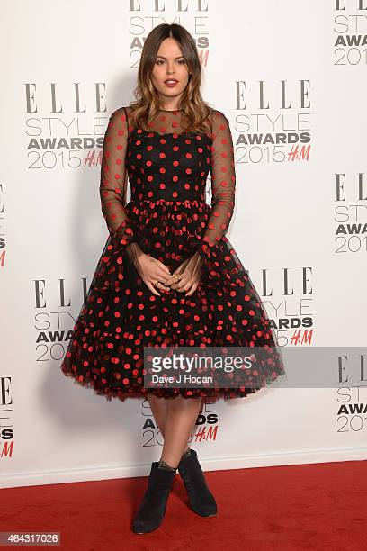 Atlanta De Cadanet attends the Elle Style Awards 2015 at Sky Garden @ The Walkie Talkie Tower on February 24 2015 in London England