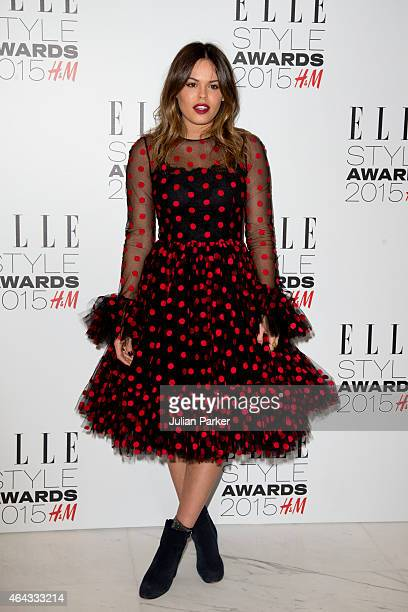 Atlanta De Cadanet Taylor attends the Elle Style Awards 2015 at Sky Garden @ The Walkie Talkie Tower on February 24 2015 in London England
