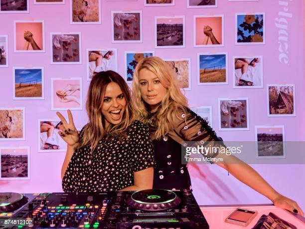 Atlanta de Cadenet and Amanda de Cadenet attend the #TEAMPIXEL x GIRLGAZE launch event hosted by Google and Amanda De Cadenet on November 15 2017 in...
