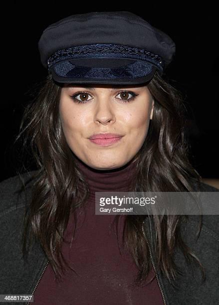 Atlanta de Cadenet attends the ICB By Prabal Gurung Show during Mercedes-Benz Fashion Week Fall 2014 at Eyebeam on February 11, 2014 in New York City.