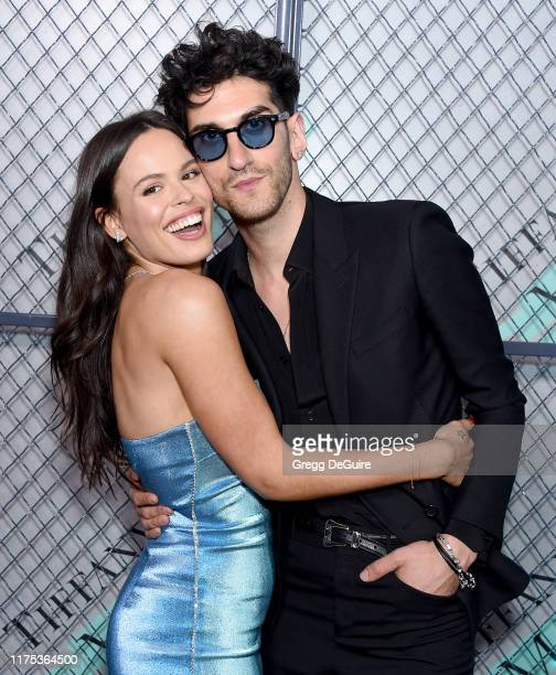 Atlanta de Cadenet Taylor and David Macklovitch attend Tiffany Co launch of the new Tiffany Men's Collections at Hollywood Athletic Club on October...