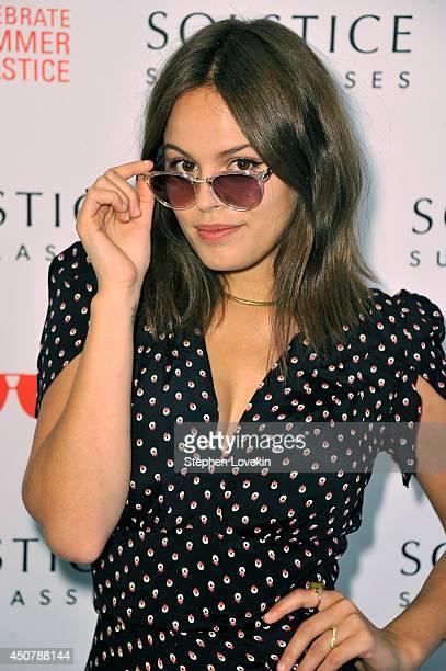 030616f5a6b Atlanta De Cadenet Taylor wearing Fendi sunglasses while attending the  Summer Solstice Soiree for Solstice Sunglasses