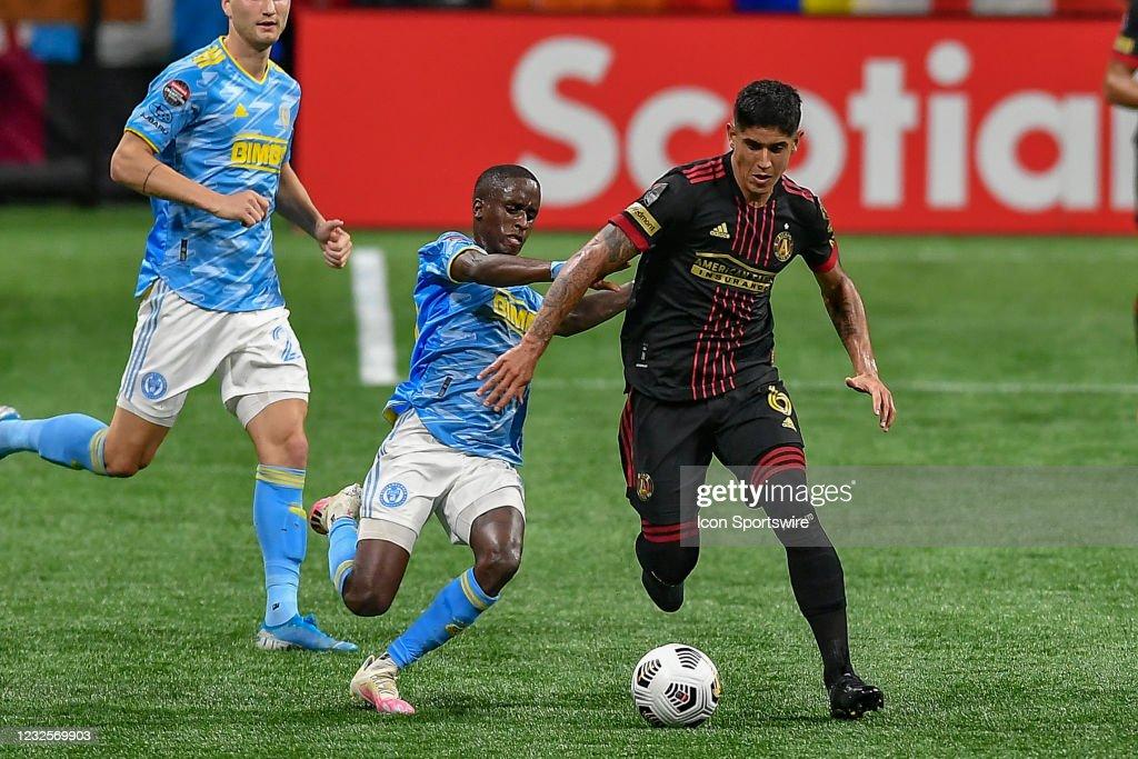 SOCCER: APR 27 CONCACAF Champions League - Philadelphia Union FC at Atlanta United FC : News Photo