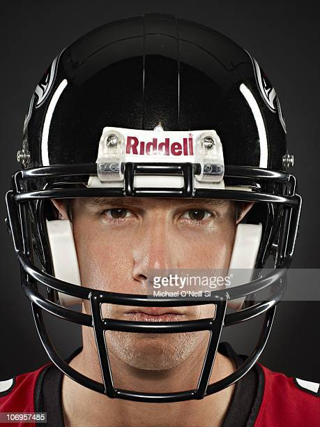 Atlanta Falcons Quarter Back Matt Ryan poses for a closeup portrait on July 17 2009 at Edgewood Tahoe Golf Course in Stateline NV Cover Image