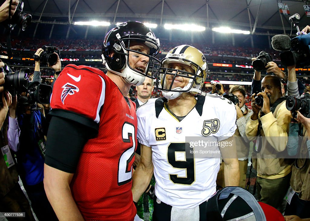 NFL: JAN 01 Saints at Falcons : News Photo