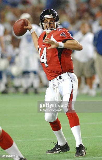 Atlanta Falcons quarterback Ty Detmer at the 2005 American Bowl Aug 6 at the Tokyo Dome in Japan The Falcons defeated the Indianapolis Colts 27 21