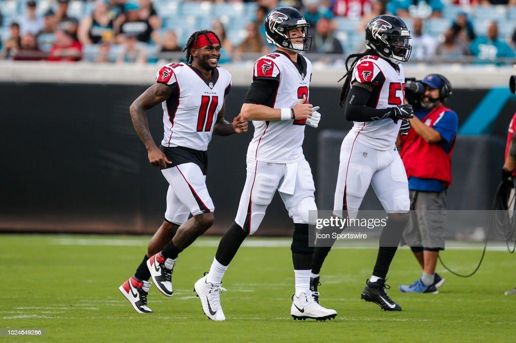 NFL: AUG 25 Preseason - Falcons at Jaguars : News Photo