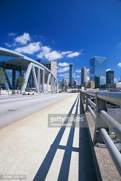USA, Atlanta, Georgia, financial district cityscape