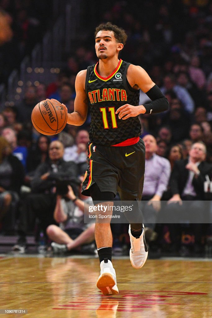 NBA: JAN 28 Hawks at Clippers : News Photo