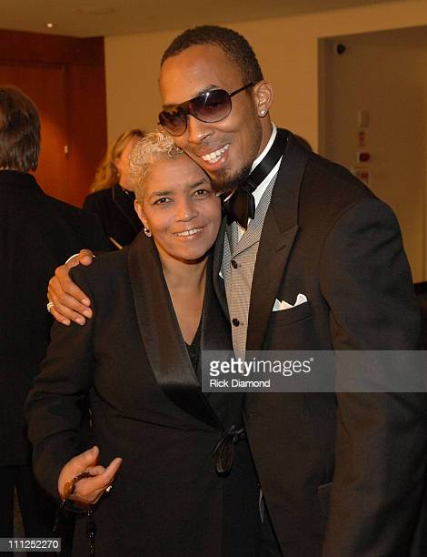 Atlanta Mayor Shirley Franklin and Dallas Austin during The Dallas Austin Foundation 1st Annual Don't Stop the Music Gala at Georgia Aquarium in...