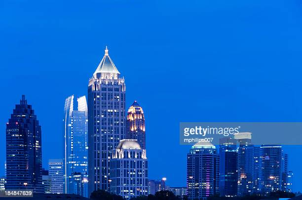 atlanta - atlanta skyline stock pictures, royalty-free photos & images
