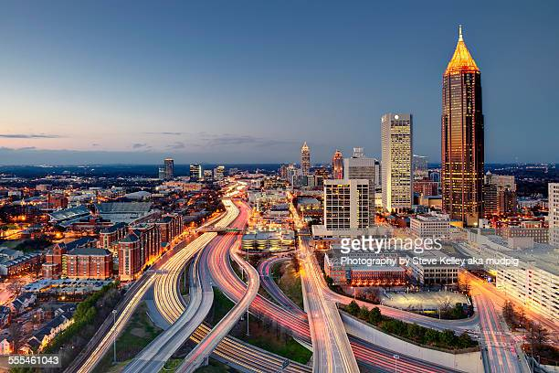 atlanta - atlanta georgia stock photos and pictures