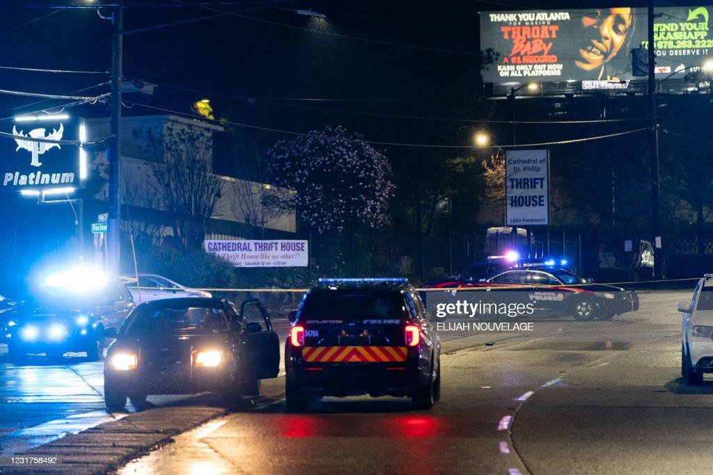 US-SHOOTINGS-SPA : News Photo