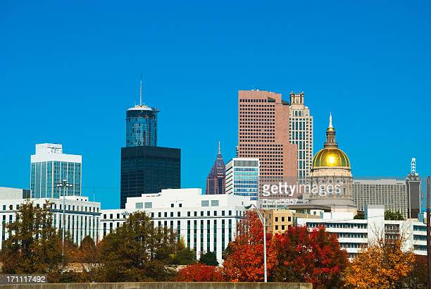 Atlanta skyline at Fall