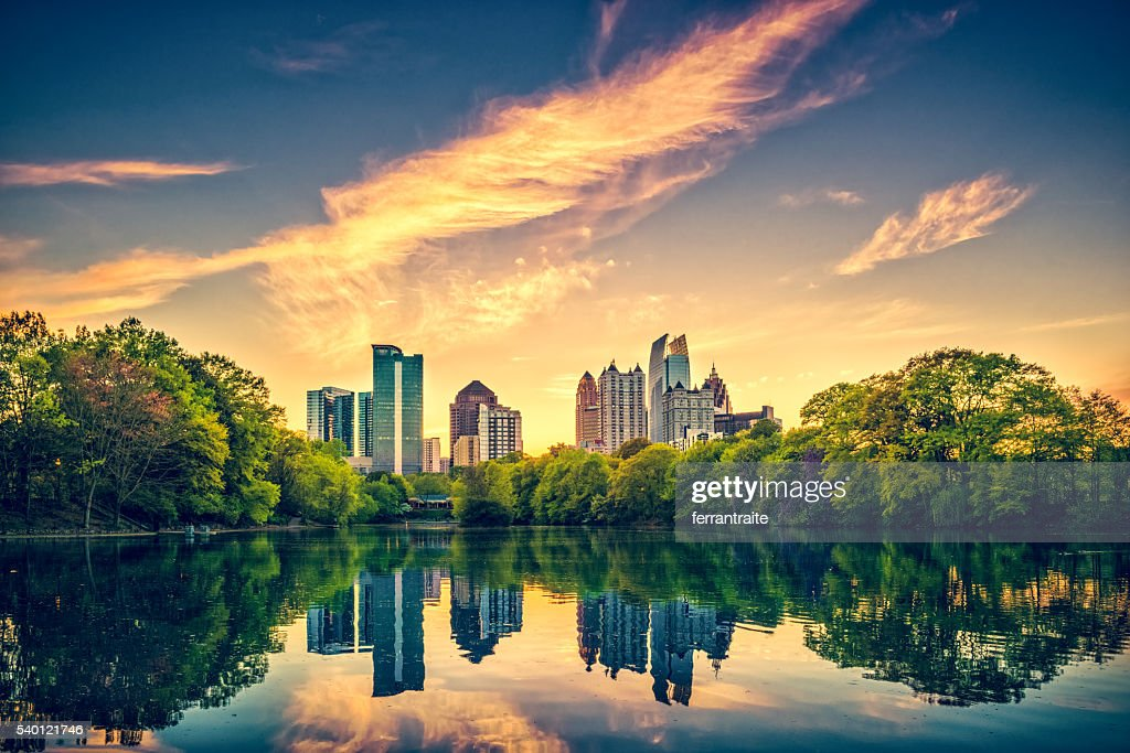 Atlanta Skyline : Stock Photo