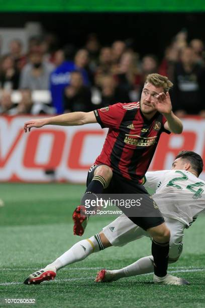 Atlanta United defender Julian Gressel during the MLS Cup between the Atlanta United FC and the Portland Timbers on December 8 2018 at the...