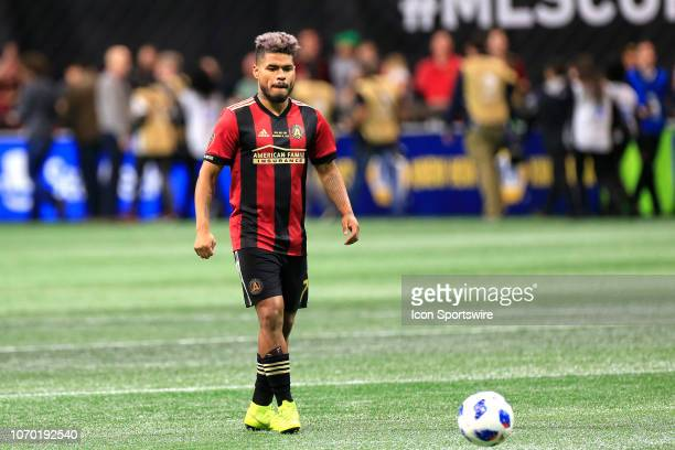 Atlanta United forward Josef Martinez just prior to the MLS Cup between the Atlanta United FC and the Portland Timbers on December 8 2018 at the...