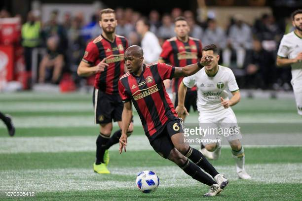 Atlanta United midfielder Darlington Nagbe during the MLS Cup between the Atlanta United FC and the Portland Timbers on December 8 2018 at the...