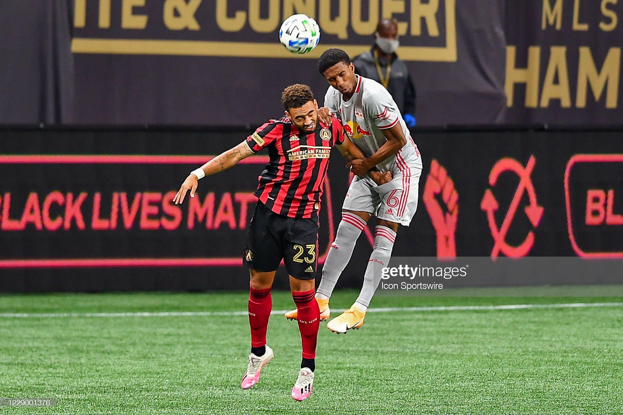 SOCCER: OCT 10 MLS - New York Red Bulls at Atlanta United FC : News Photo