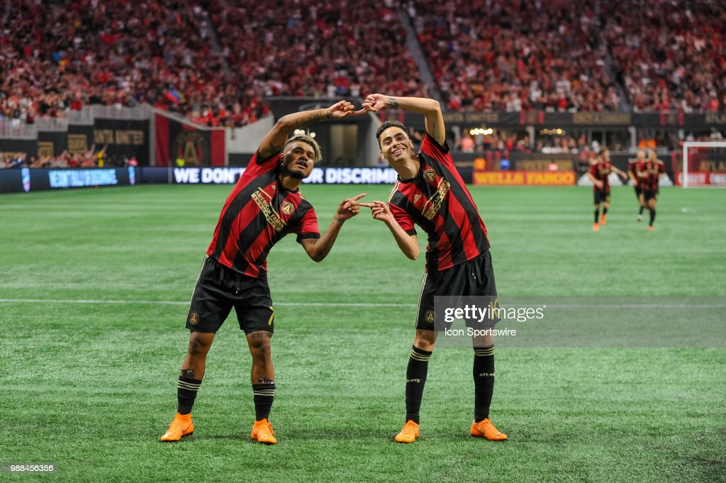 SOCCER: JUN 30 MLS - Orlando City SC at Atlanta United FC : News Photo