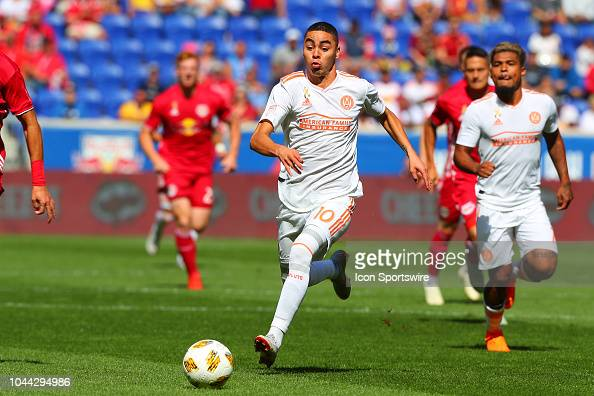 Atlanta United Midfielder Miguel Almiron During The First