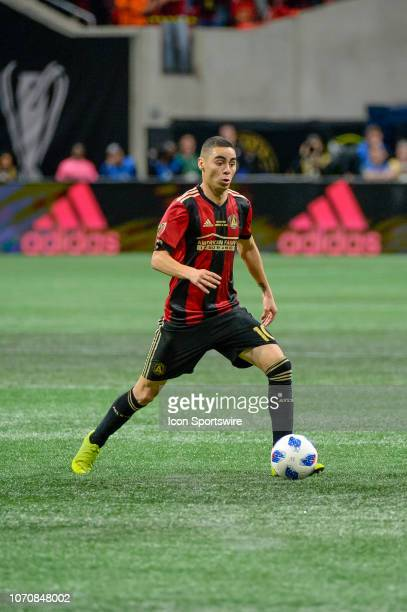 Atlanta United midfielder Miguel Almiron during the MLS Cup Finals match between Atlanta United and Portland Timbers on December 8 2018 at...