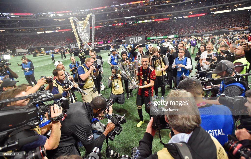 SOCCER: DEC 08 MLS Cup - Portland Timbers at Atlanta United FC : News Photo