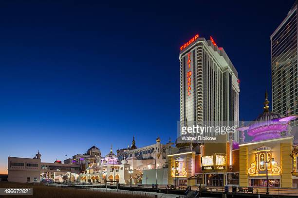 atlantic city boardwalk - atlantic city stock pictures, royalty-free photos & images