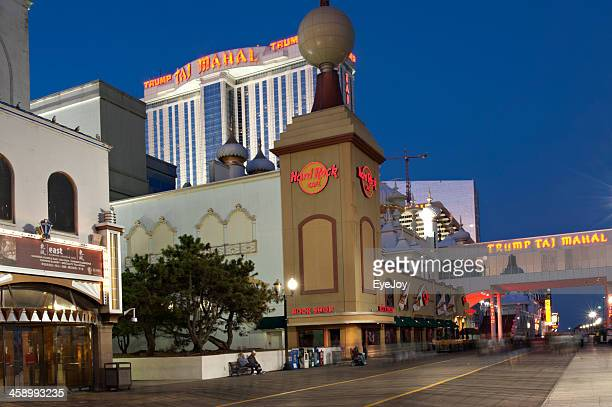Atlantic City, New Jersey Boardwalk and Casinos