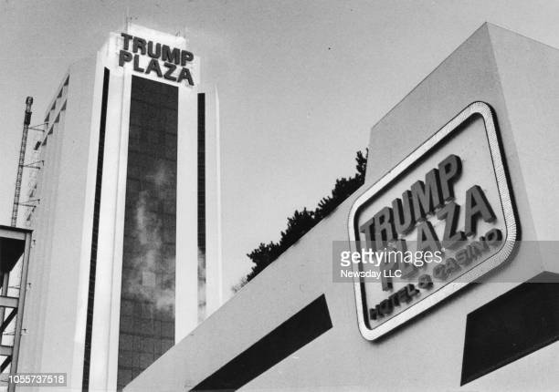 The exterior of The Trump Plaza Hotel and Casino, located on the boardwalk in Atlantic City, New Jersey as seen on March 19,1987.