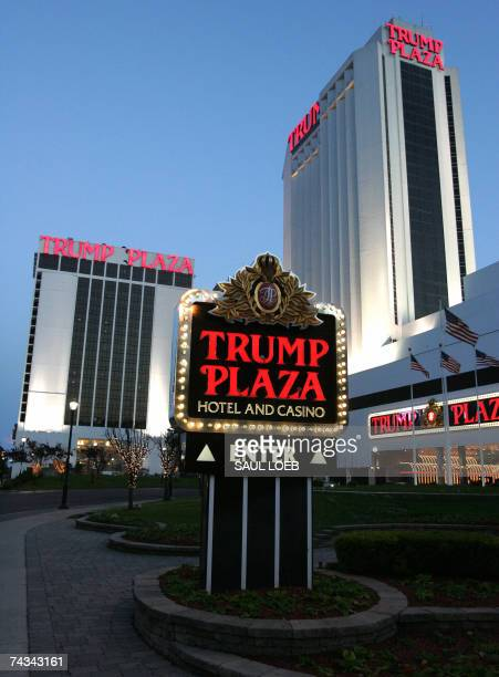 Atlantic City, UNITED STATES: The Trump Plaza hotel and casino in Atlantic City, New Jersey, is pictured 25 May 2007. Gambling has been legal in...
