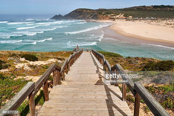 Atlantic Coast in Algarve, Portugal